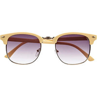 Yellow retro geek sunglasses - retro sunglasses - sunglasses - women