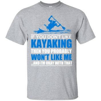 Kayaking Men's or Ladies Tee Shirt