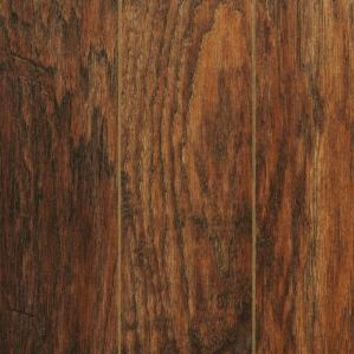 Home Decorators Collection, Hand-Scraped Medium Hickory 12 mm Thick x 5.28 in. Wide x 47.52 in. Length Laminate Flooring (12.19 sq. ft. / case), 368301-00256 at The Home Depot - Mobile