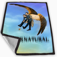 Supernatural Art Blanket for Kids Blanket, Fleece Blanket Cute and Awesome Blanket for your bedding, Blanket fleece *