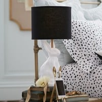 The Emily & Meritt White Bunny Table Lamp