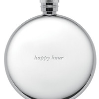 Kate Spade Silver Street Happy Hour Flask Silver ONE