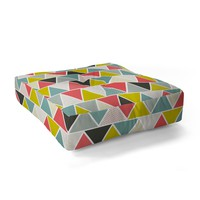 Heather Dutton Triangulum Floor Pillow Square