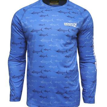 Youth Marlin Express L/S UV Fishing Shirt
