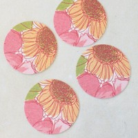 field of poppies coaster set at ShopRuche.com