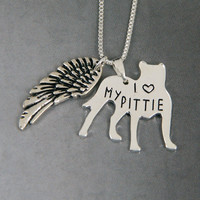 Cute Pitbull Pendant