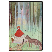 Oliver Gal, Little Red Riding Hood, Acrylic / Lucite, Paintings