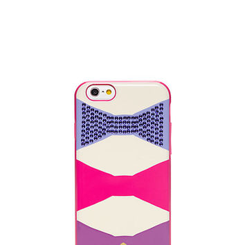 Kate Spade Oversized Bow Gem Resin Iphone 6 Case Vivid Snapdragon ONE