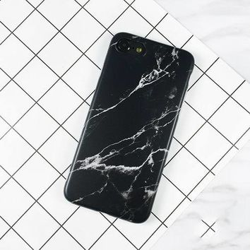 LOVECOM Granite Stone Marble Texture Pattern Case For iphone Plus