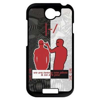 Twenty One Pilots Logo Blurryface HTC One S Case