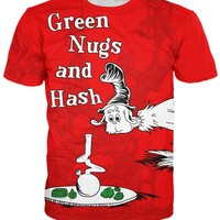 Green Nugs and Hash T-Shirt