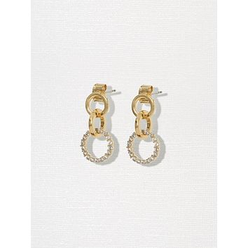Gold Sofia Earrings