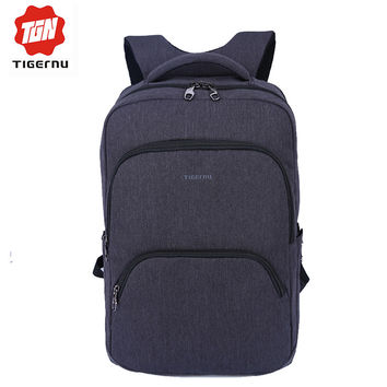 2017 Tigernu Multifunction Men Backpack 17inch Laptop Backpacks Women Mochila Large Capacity Leisure Travel backpack School Bag