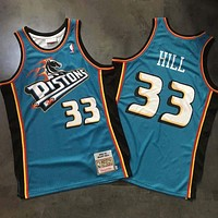 1998-99 Mitchell & Ness 33 Grant Hill Swingman Jersey