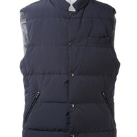 Brunello Cucinelli Snap Button Vest