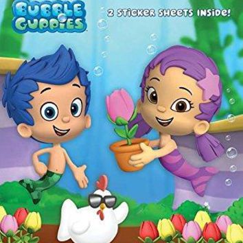 The Spring Chicken! Bubble Guppies. Step into Reading STK