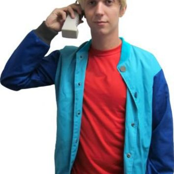 90's Saved by the Stud Costume Bayside Jacket & Wig - Saved by the Bell - | TV Store Online