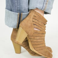 Strappy Happy Heel Booties
