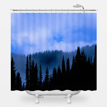 Blue's Hues Shower Curtain