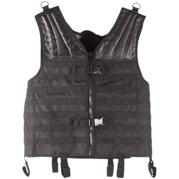 Hook & Loop System Adjustable Shoulders Big & Tall Modular Vest