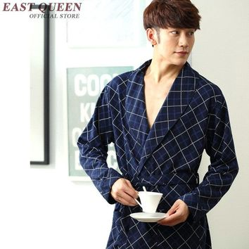 Male bathrobe summer style male robes home clothing mens bathrobe new arrivals bathrobe for man KK895 H