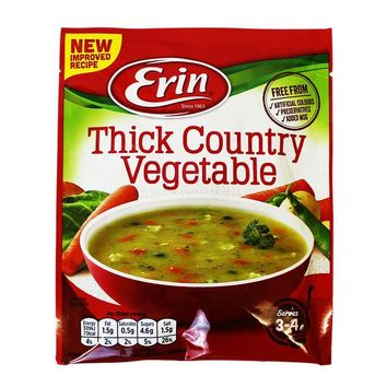 Erin Thick Country Vegetable Soup Mix, 2.5 oz (72 g)