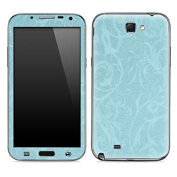 Subtle Blue Laced Pattern Skin for the Samsung Galaxy Note 1 or 2