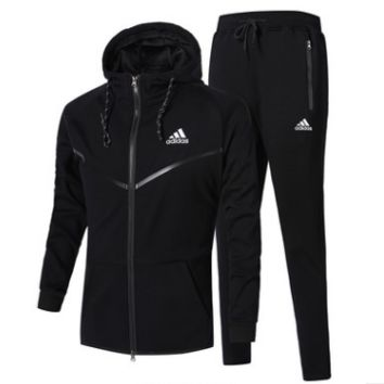 Unisex Adidas Casual Winter Men Jogging Sports Long Sleeve Jacket Sportswear Set [9521244167]
