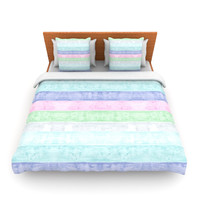 "Monika Strigel ""Beach Wood Pastel"" Lightweight Duvet Cover"