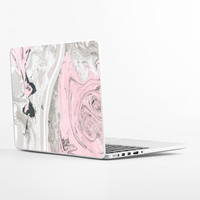 Rose Marble Laptop Skin