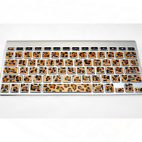 Mac Keyboard Stickers Leopard Computer Decal by kidecals on Etsy