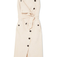 Altuzarra - Audrey button-detailed ottoman midi dress