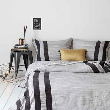 4040 Locust Spacedye Stripe Duvet Cover