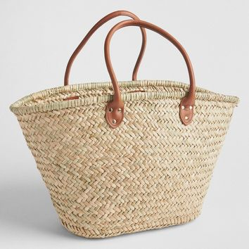 Large Straw Tote | Gap