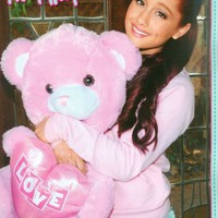 "ARIANA GRANDE - TEEN GIRL ACTOR - 11"" x 8"" MAGAZINE PINUP - POSTER"