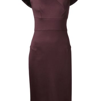 Roland Mouret shoulder detail dress