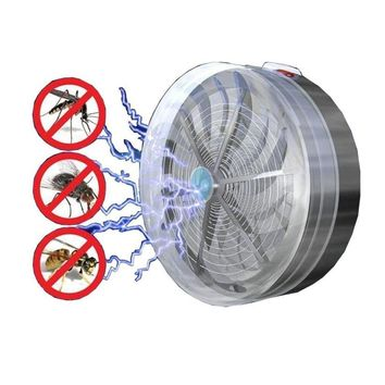 Summer Solar Powered Mosquito Killer Lamp
