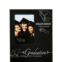 Mini Follow Your Dreams Graduation Photo Frame 4in x 5in | Party City