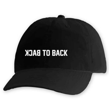 BACK TO BACK [DAD HAT]