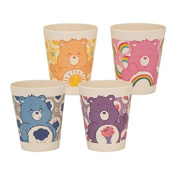 Care Bears Bamboo Cup - Set of Four