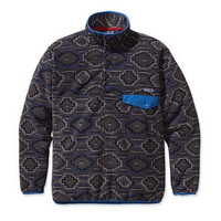 Patagonia Synchilla Snap-T Mens Pullover Jacket in Yanaba Forge Grey (25450-YFO)