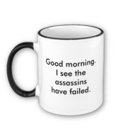 Assassins Coffee Mug from Zazzle.com