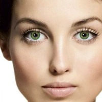 Mesmereyez Lime Green Coloured Contacts (Comfort) (Kit)