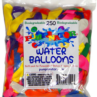 Biodegradable Water Balloons - 250 pc