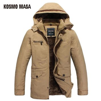 Cotton Hooded Winter Jacket Parka For Men Clothes Coat Campera Puffer Jackets Mens Down Parkas