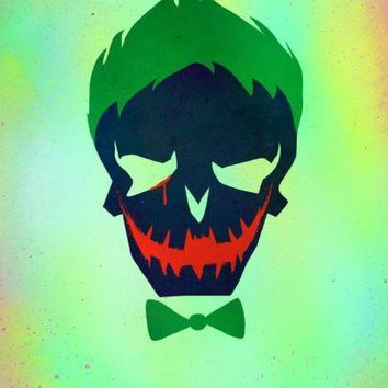 Joker Suicide Squad Icon Poster Standup 4inx6in