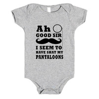ah good sir pantaloons baby one-piece