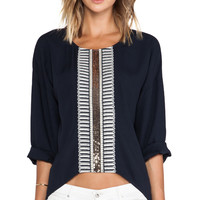 Sass & Bide On The Spot Pullover in Navy