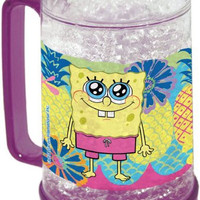 Nickelodeon, Spongebob Squarepants, Colada 16-Ounce Crystal Freezer Mug by The Northwest Company