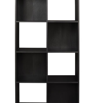 Cubeicals 8 Cube Cubical Storage Display Organizer, Black